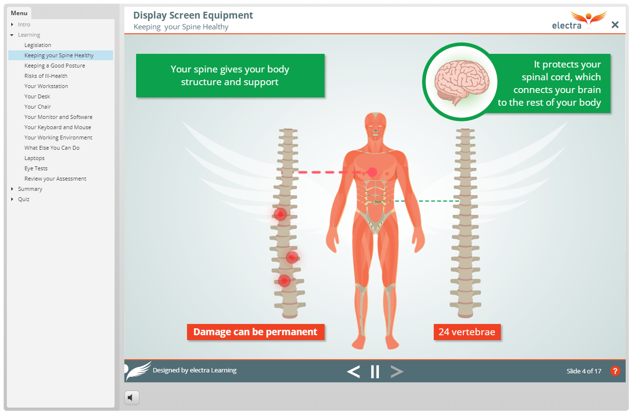 DSE - Keeping your Spine Healthy