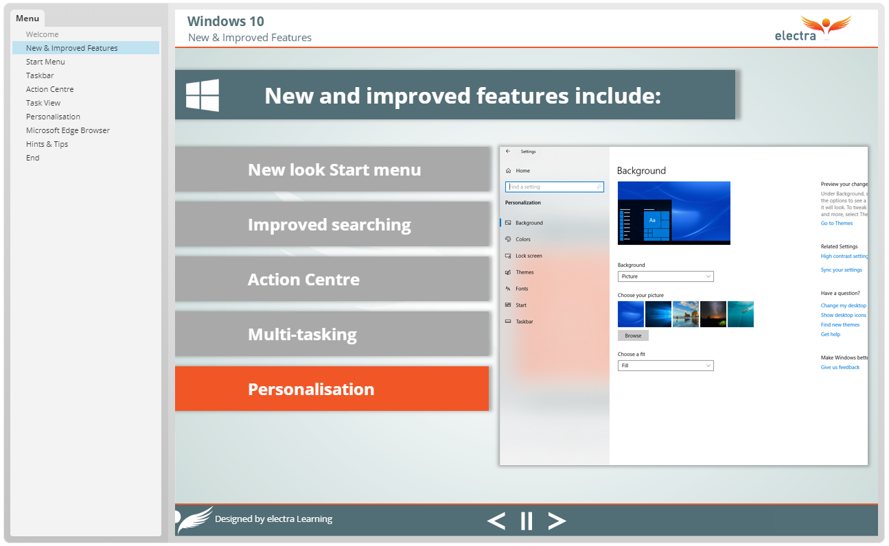 Windows 10 - New and Improved Features