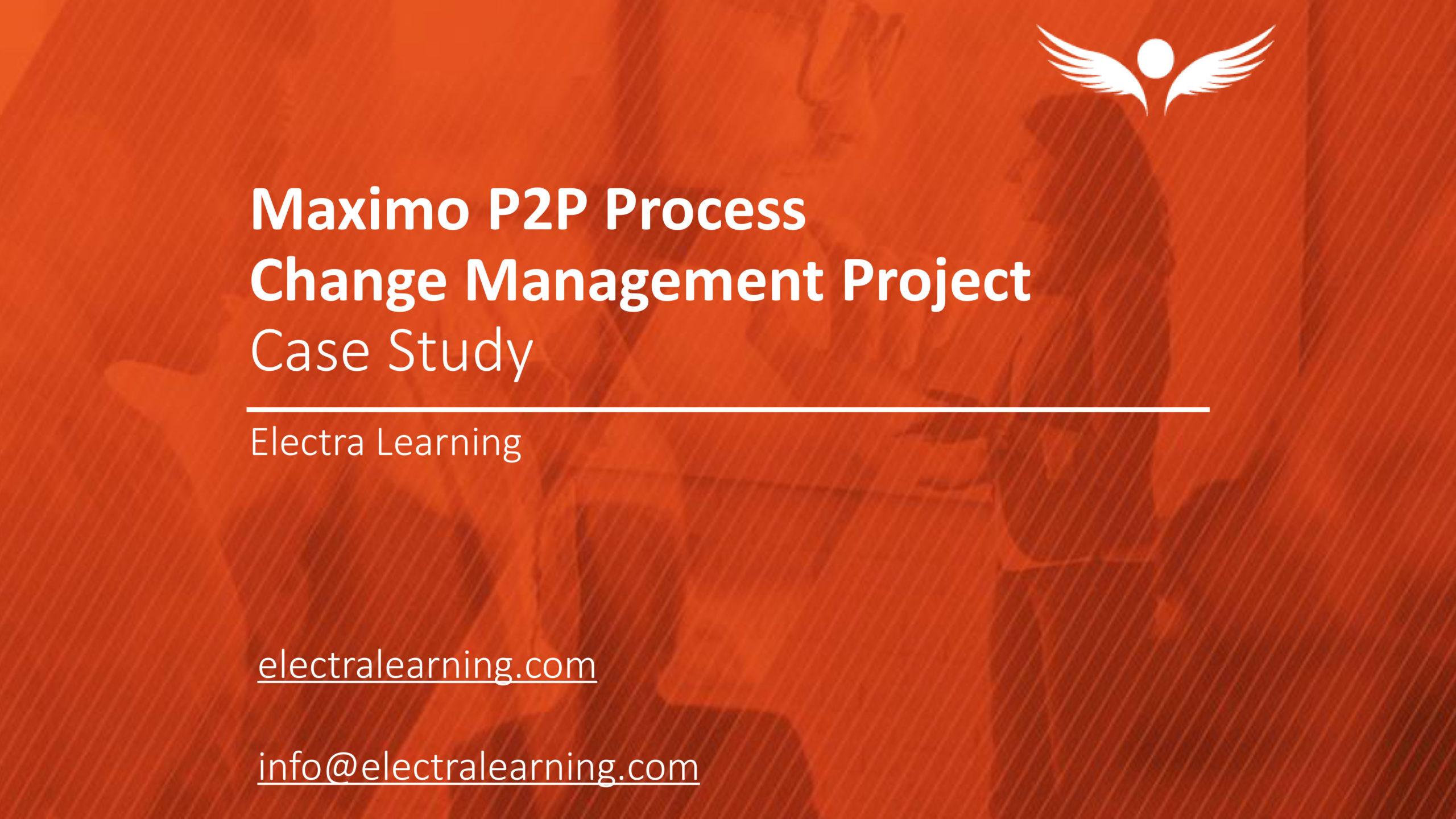 Repsol Maximo P2P Process: Case Study