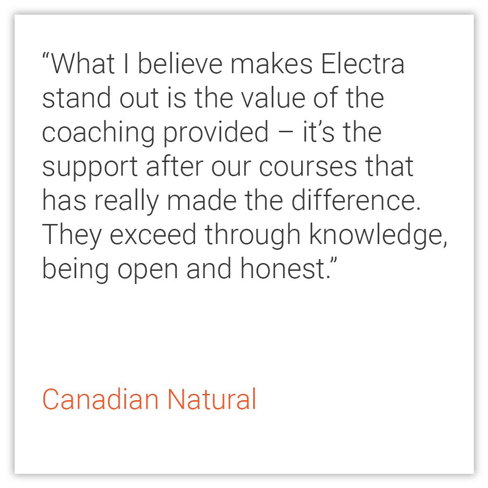 Canadian Natural Testimonial (Home Page)