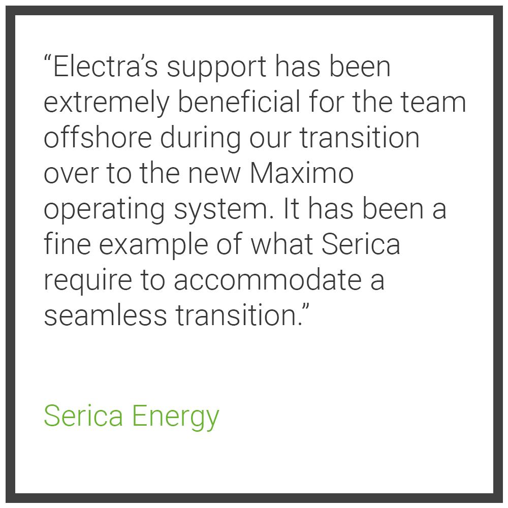 LMS Testimonial 2 - Serica Energy