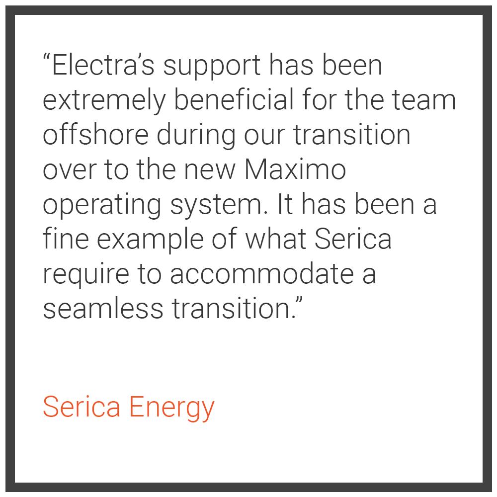 Serica Energy Testimonial (Home Page)