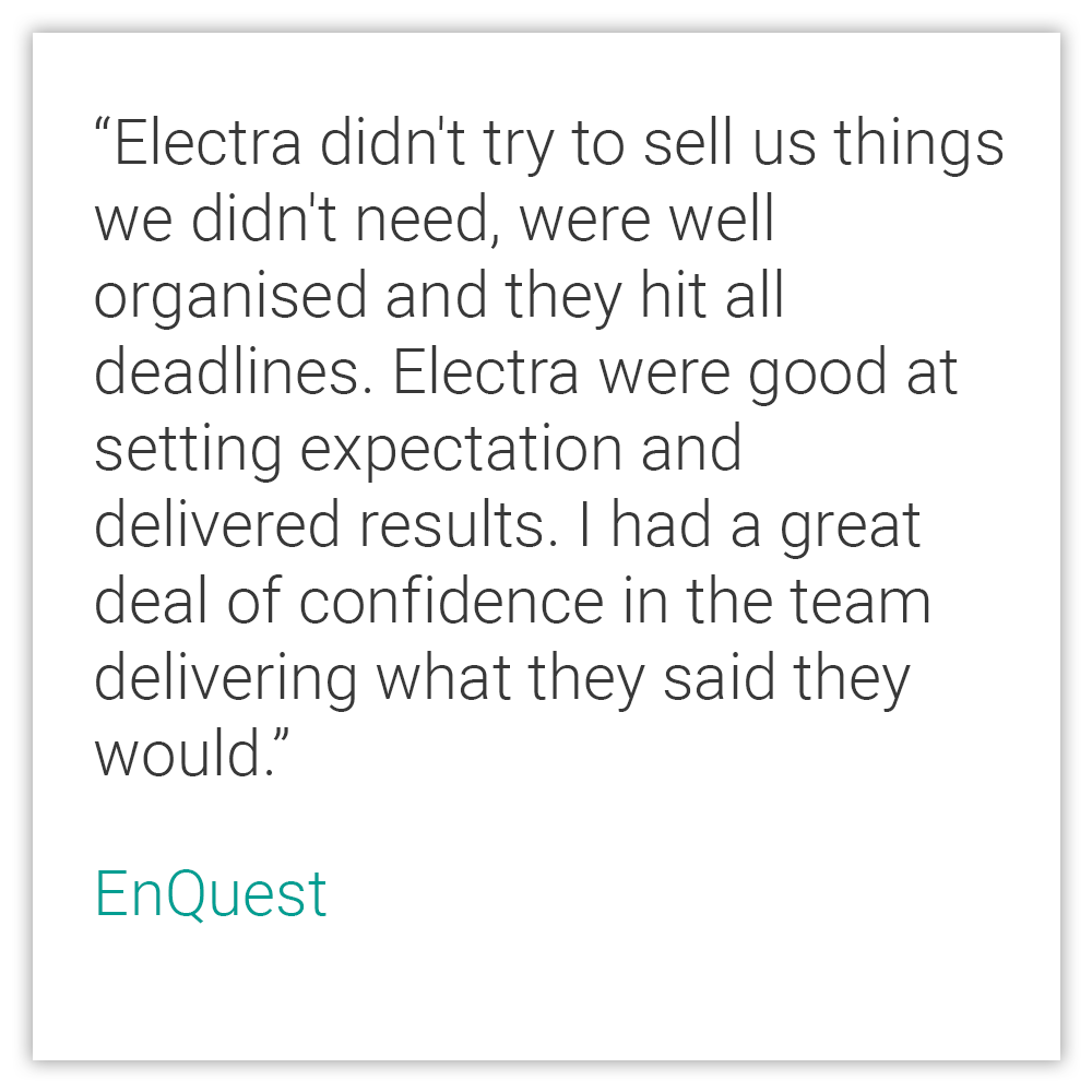 eLearning Testimonial - EnQuest