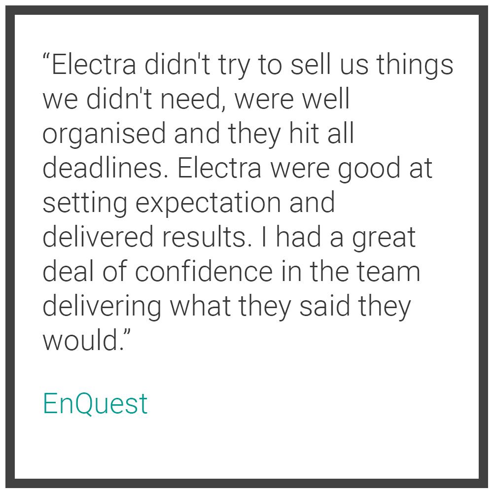 eLearning Testimonial - EnQuest